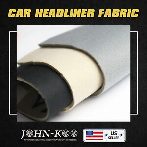 Auto Boat Marine Interior Headliner Fabric Upholstery Material Foam Backed Mat