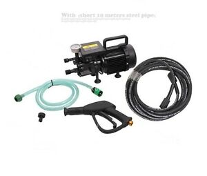 New Ac220v High Pressure Washer Electric Water Cleaner Pump 10m Ss Pipe