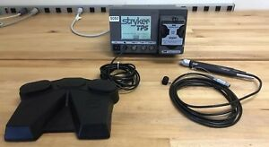 Stryker Tps Arthroscopy Shaver System Console W foot Switch Shaver 5050