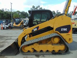 2012 Cat 279c Turbo 2 Speed ice Cold A c Hyd Coupler