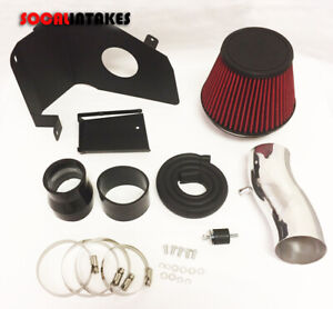 Cold Air Intake Kit Filter With Heat Shield For 2011 2017 Hyundai Veloster 1 6