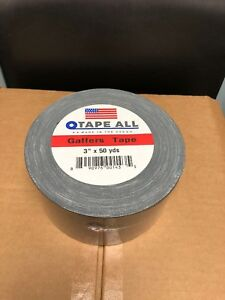 Case Of 16 Proffessional Grade Gaffers Tape Black 3 X 50 Yds Made In The Usa