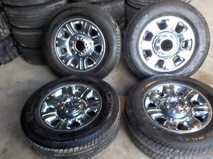 4 2014 Ford F250 F350 20 Alloy Wheels And Toyo Tires 2011 2016 Bb112l