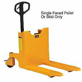 Portable Container Pallet Skid Tilter Manual Hand Pump 2200 Lb Capacity