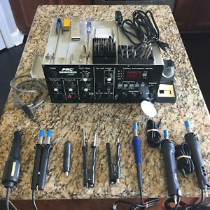 Pace Solder Station Prc 2000 With Hand Pieces And Accessories