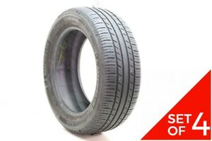 Set Of 4 Used 205 55r16 Michelin Premier As 91h 7 8 5 32