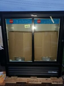 New True Gdm 41sl 54 hc ld Black Led Glass Soda Cooler Freight Shipped