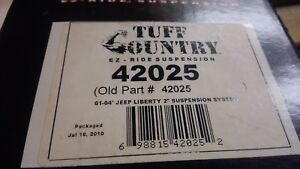 Tuff Country 2 In Suspension System Lift Kit 2001 2004 Jeep Liberty 42025