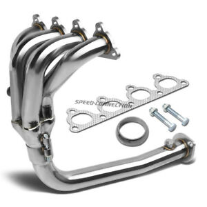 4 1 Stainless Steel Exhaust Racing Header For 96 00 Honda Civic 1 6 D16y8 Sohc