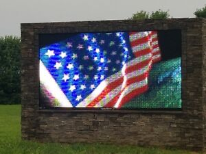 Watchfire Full Color Led Sign 5 X 10
