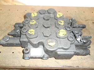 Case Skidsteer Loader Valve Part 87546974