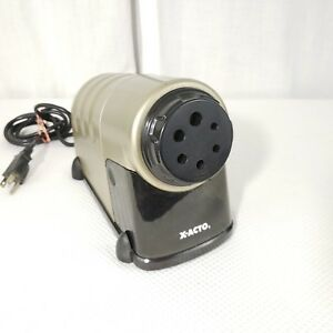 X acto High Volume Commercial Electric Pencil Sharpener Model 41 Tested Working