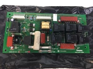 Gendex Oem Pc Circuit Board Pcb 124 0114g1 For Gxp Dental X ray Film Processor