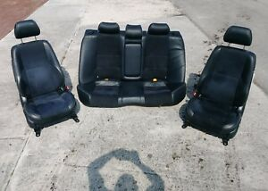 01 02 03 04 05 Lexus Is300 Front Rear Seats Suede Leather