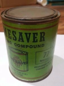 Timesaver Lapping Compound 77 Coarse Steel Cast Iron Bronze Stainless Hard Green