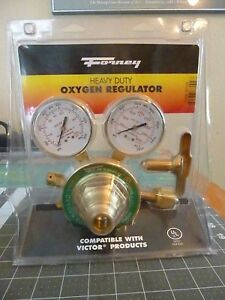Forney 87100 Oxygen Regulator Heavy Duty Victor Style