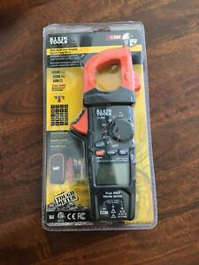 Klein Tools Cl800 True Rms Ac dc Auto ranging 600 Amp Digital Clamp Meter new