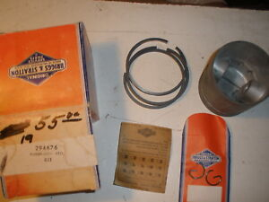 Vintage Nos Briggs Stratton Gas Engine Piston Assembly 294676 For Model 19