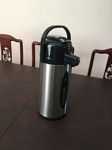 Daily Chef Commercial Airpot 2 2l 74 4 Oz Stainless Steel