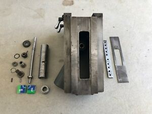 Clausing 8520 Milling Machine Knee Assembly W New Bearings 8525