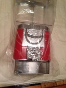 Rhino Pro Bulk Candy Machine All Metal Body red W Keys