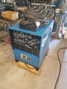 Miller Syncrowave 250 Tig Stick Welder Torch Foot Control Clamps Reg