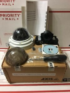 Axis Communications 0470 001 P3363 v 12mm Fixed Dome Camera Light Finder Manuel