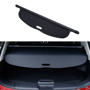 Blk 1x Trunk Shade Black Cargo Cover For Nissan Rogue Sv X trail T32 2014 2015
