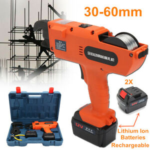 30 60mm Automatic Handheld Rebar Tier Tool Building Tying Machine