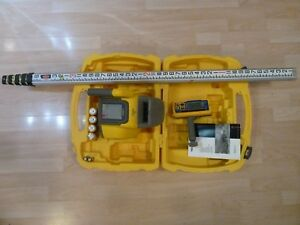 Spectra Precision Ll300n Self Laser Level With Hl450 Receiver I t Rod
