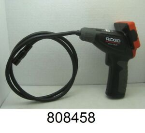 Ridgid Micro Ca 25 Handheld Inspection Camera With Color Lcd Screen