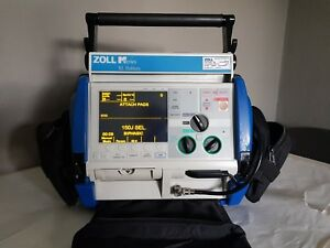 Zoll M Series Biphasic 2007 Aed Ecg 12 Leads Nibp Spo2 Pacers Xl Battery
