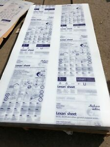 Clear Lexan 9034 Polycarbonate Sheet 080 X 96 X 48 Clear Plastic Sheet