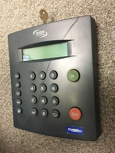 Icon Time Rtc1000 2 5 Universal Employee Time Clock upgraded