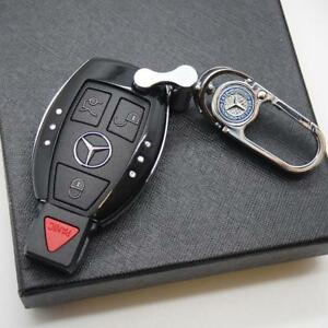 Black Car Remote Key Case Holder Shell Protect Housing Cover Decoration Gift B