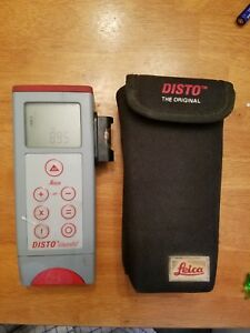 Leica Disto Classic 3 With Case And Side Level Working