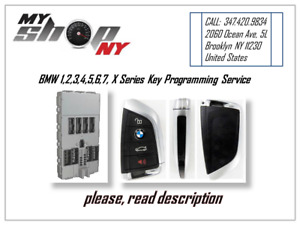 Bmw 1 2 3 4 5 6 7 X Series Smart Key Fob Programming Service By Cas Or Fem bdc