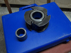 Leuco Shaper Cutter Molder Head Insert Carbide 40mm Bore