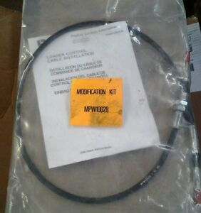 Nos John Deere Tractor Loader Control Cable Modification Kit Aw27921 Mpw10028