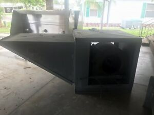 Make Up Air Unit For Commercial Kitchen Hood