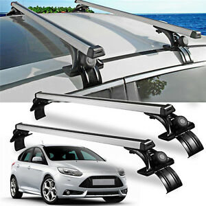 Universal 48 Car Top Roof Cross Bar Rack Luggage Carrier W 3 Kinds Clamp Suv