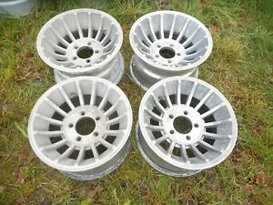 14 X 8 Western Turbine Mag Wheel Old School Vintage Ford Chevy Vector Hurricane