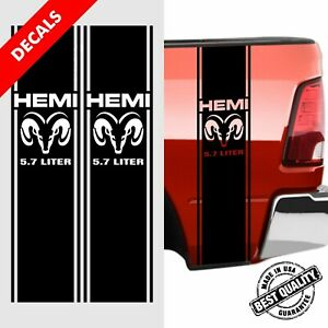 Dodge Ram 1500 2500 3500 Truck Decals Stripes Ram 5 7 L Head Hemi Kit 13