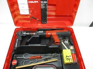 Hilti Dx 351 Powder Actuated Nail Gun Kit With X mx32 Free Shipping