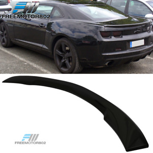Fits 10 13 Chevy Camaro Oe Factor Trunk Spoiler Wing Painted Glossy Black