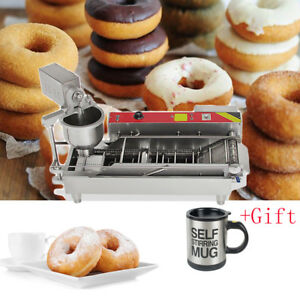Automatic Commercial Donut Fryer Maker Making Machine Donut Robot Tool gift