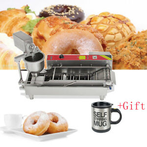 Brand New Automatic Commercial Donut Fryer Maker Making Machine Donut gift New