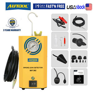 Autool Sdt 202 Car Smoke Machine Diagnostic Smoke Leak Detector For Pipe Evap Us