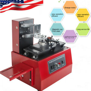 Us Multi function Electric Pad Printer Ink Printing Machine Pad Printing Machine