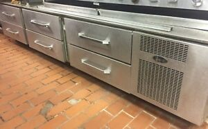 Randell 20105sc 93 Chefs Base Refrigerated Drawer Equipment Stand